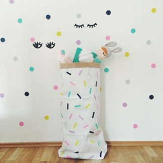Papiersack Confetti Sprinkle /groß