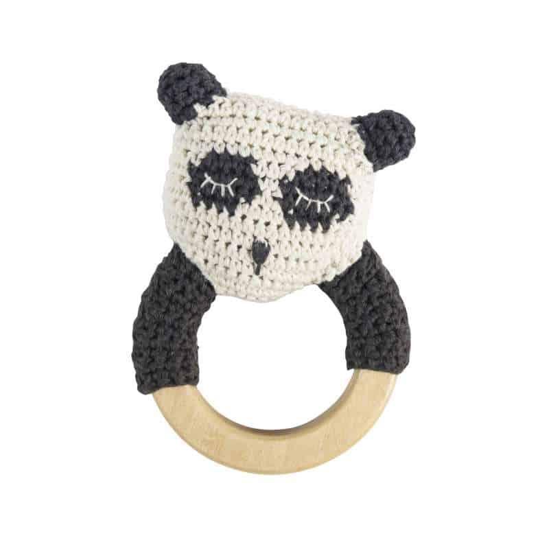 Sebra Häkelrassel Panda