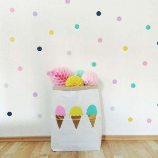 Papiersack Eis /klein