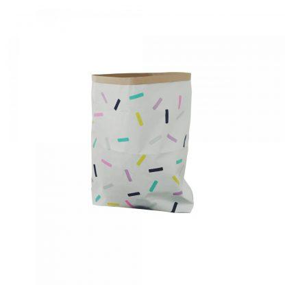 Papiersack Confetti Sprinkle/klein