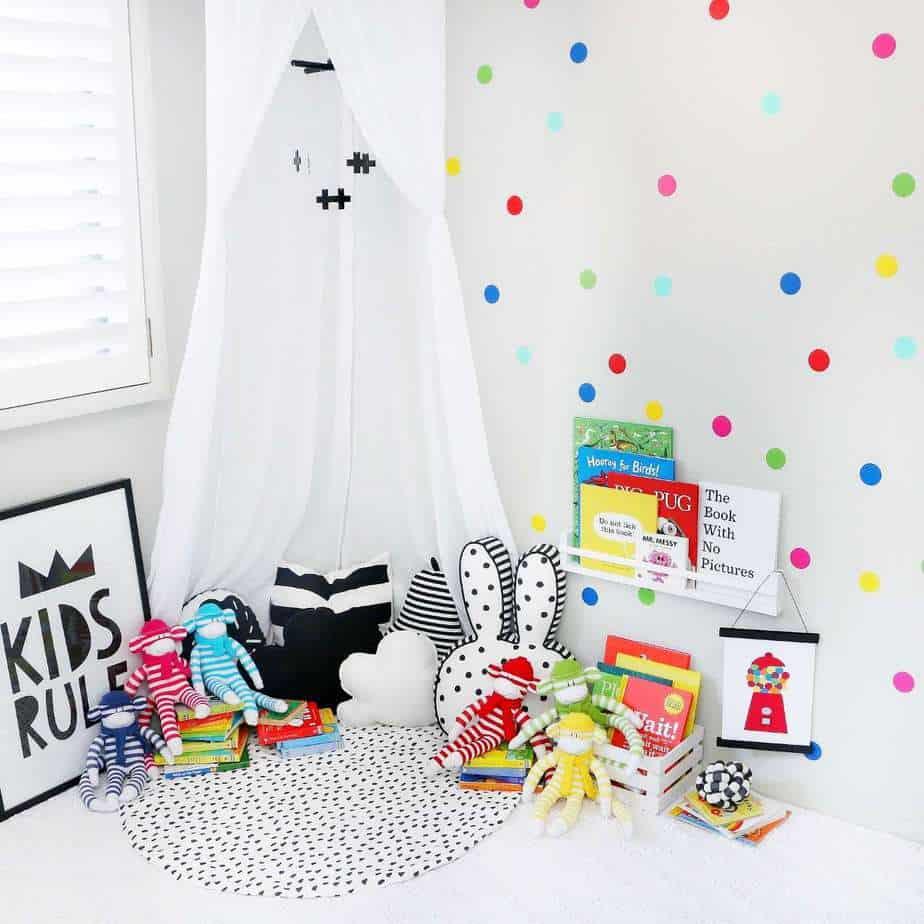 Confetti Dots- Regenbogen
