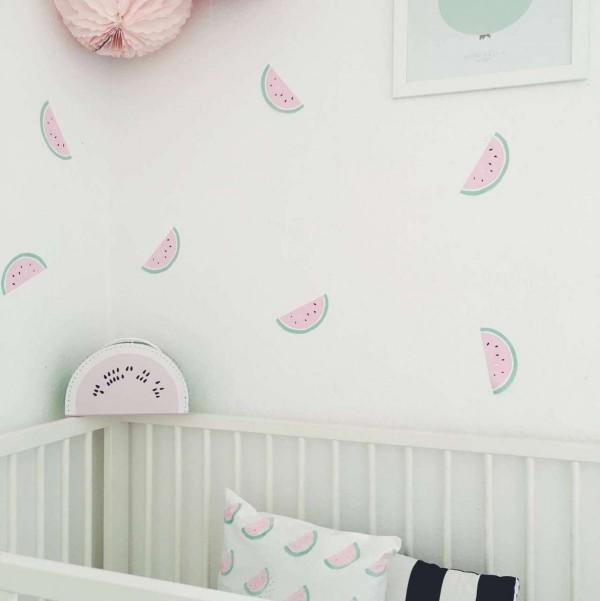 Wassermelonen Wandsticker
