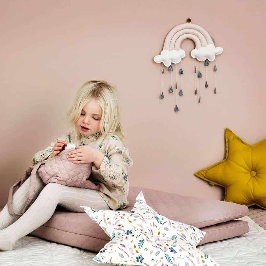 Cam Cam Baby-Mobile Regenbogen - Rosa