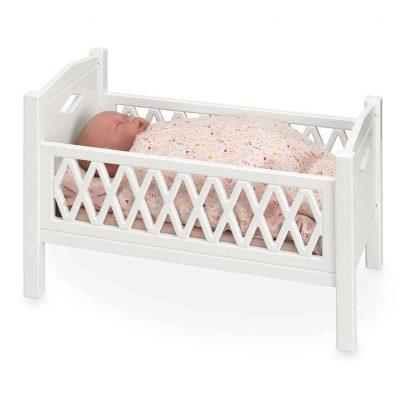 Cam Cam Puppenbett aus Holz - weiß