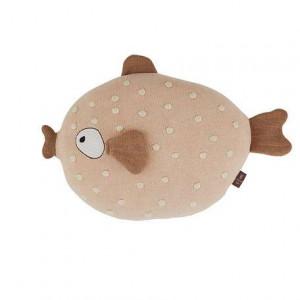 """OYOY Kissen Fisch """"Ms. Ruth"""" aus Bio-Baumwoll-Strick"""