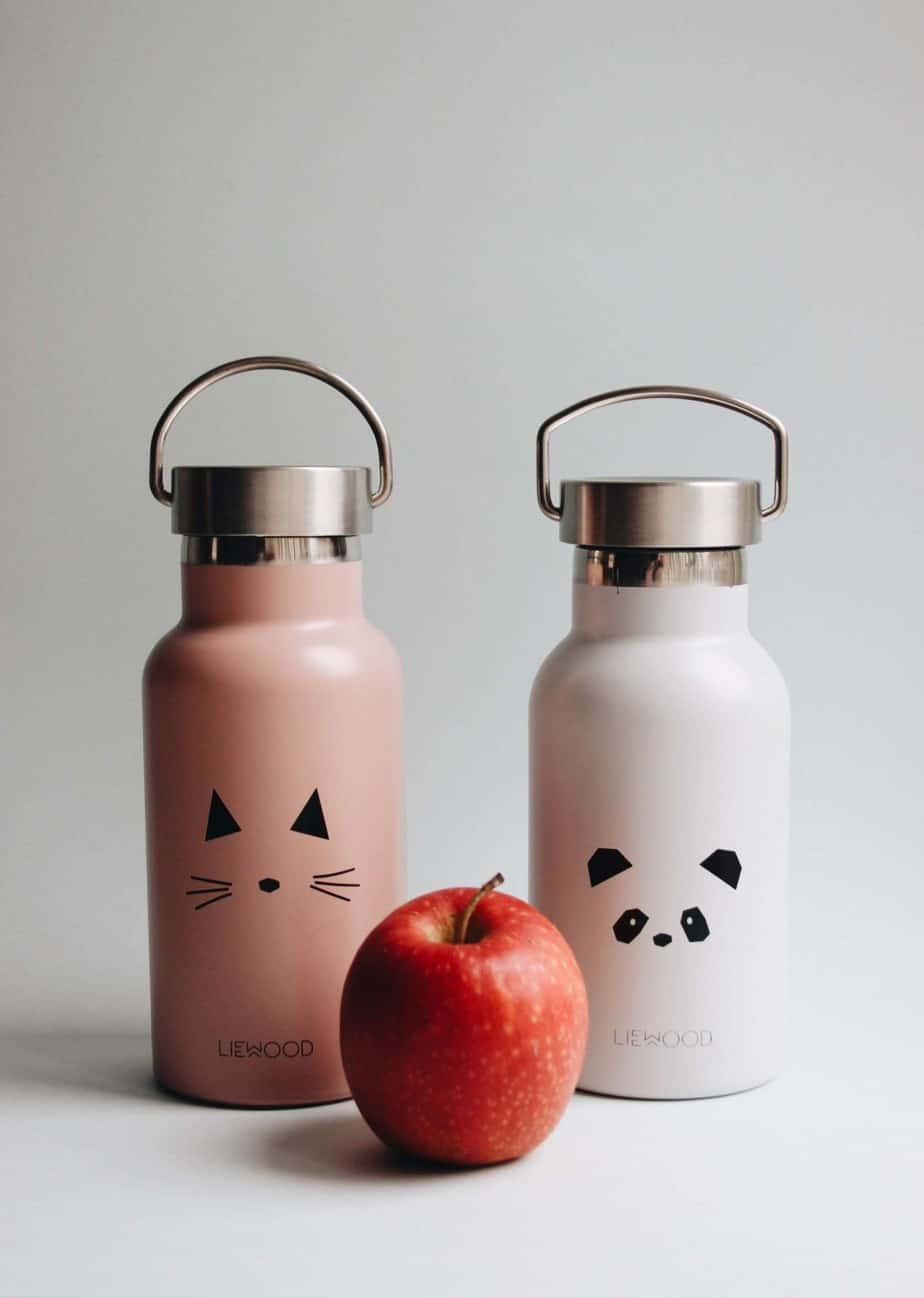 Liewood Anker Trinkflasche/Thermosflasche Hase grau
