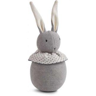 """Liewood Strickpuppe """"Valdemar Rabbit"""" grau"""