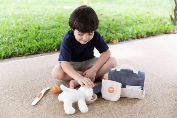 Plan toys Tierpflegeset