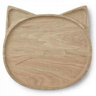 Liewood Holzteller Conrad Cat