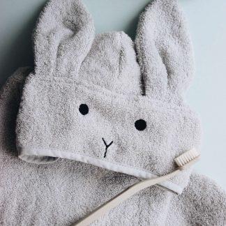 """Liewood """"Lela"""" Bademantel aus Bio-Baumwolle """"Rabbit"""""""