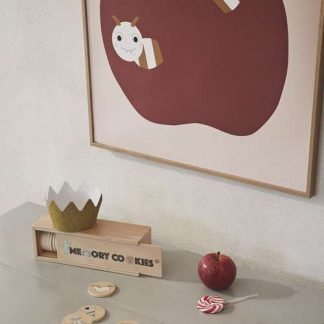 """OYOY Poster """"Love Apples"""""""