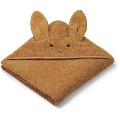"Liewood Kapuzenhandtuch ""Augusta Rabbit Mustard"""