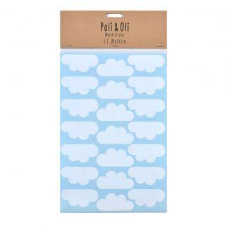 Wolken Wandsticker