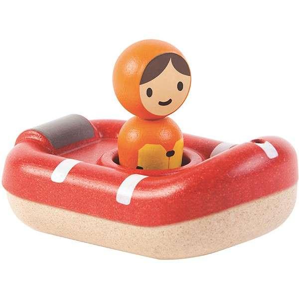 Plan Toys Badespielzeug Rettungsboot