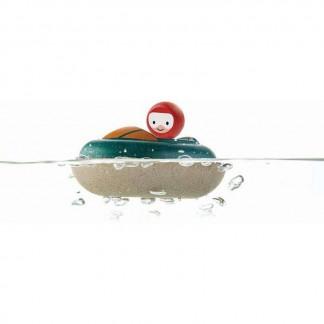 Plan Toys Badespielzeug Schnellboot.