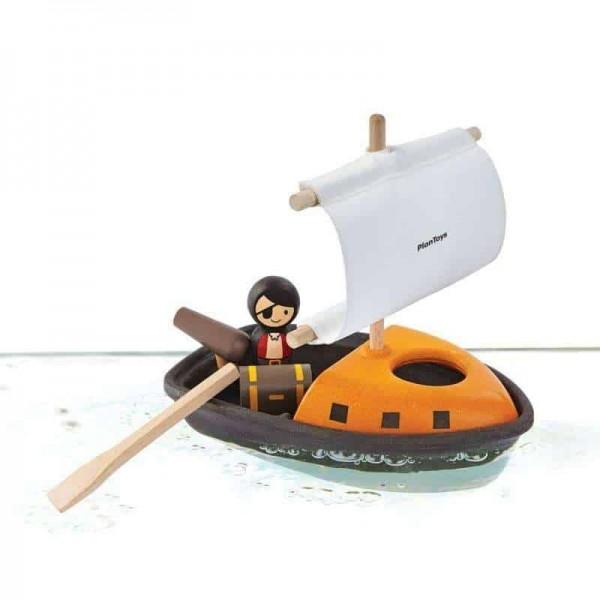 Plan Toys Badespielzeug Piratenboot