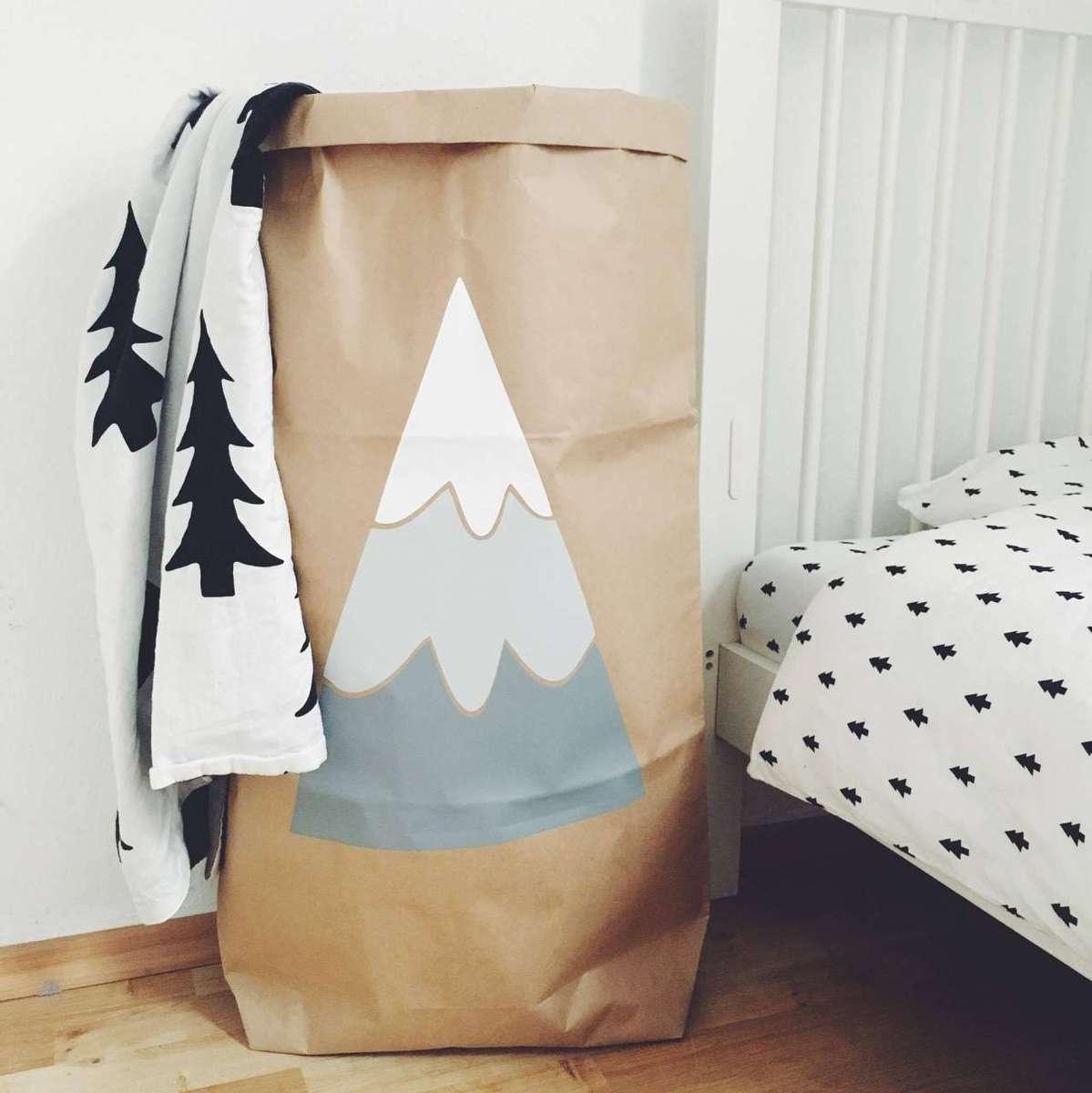 Papiersack Berg