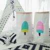 Papiersack Eis/Mint/Neue