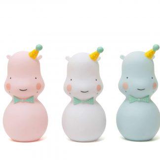 Hippo Nachtlicht/weiß